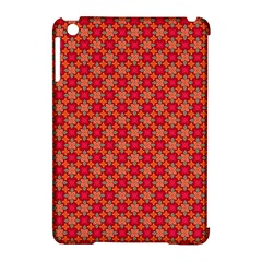 Abstract Seamless Floral Pattern Apple iPad Mini Hardshell Case (Compatible with Smart Cover)