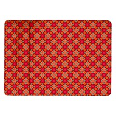 Abstract Seamless Floral Pattern Samsung Galaxy Tab 10 1  P7500 Flip Case