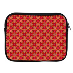 Abstract Seamless Floral Pattern Apple iPad 2/3/4 Zipper Cases