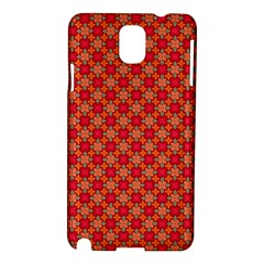 Abstract Seamless Floral Pattern Samsung Galaxy Note 3 N9005 Hardshell Case