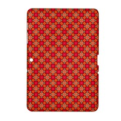 Abstract Seamless Floral Pattern Samsung Galaxy Tab 2 (10.1 ) P5100 Hardshell Case
