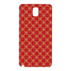 Abstract Seamless Floral Pattern Samsung Galaxy Note 3 N9005 Hardshell Back Case