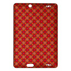 Abstract Seamless Floral Pattern Amazon Kindle Fire HD (2013) Hardshell Case