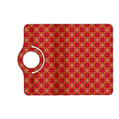 Abstract Seamless Floral Pattern Kindle Fire HD (2013) Flip 360 Case