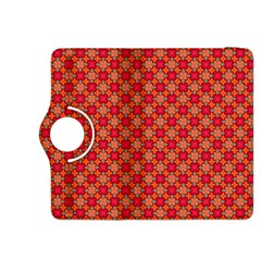 Abstract Seamless Floral Pattern Kindle Fire Hdx 8 9  Flip 360 Case
