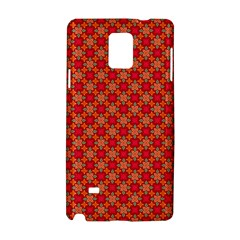 Abstract Seamless Floral Pattern Samsung Galaxy Note 4 Hardshell Case