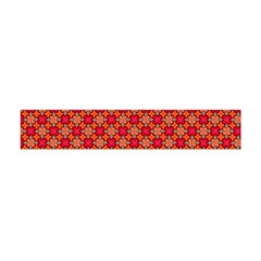 Abstract Seamless Floral Pattern Flano Scarf (Mini)