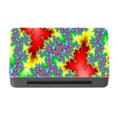 Colored Fractal Background Memory Card Reader with CF
