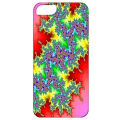 Colored Fractal Background Apple Iphone 5 Classic Hardshell Case