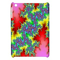 Colored Fractal Background Apple iPad Mini Hardshell Case