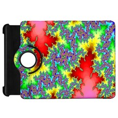 Colored Fractal Background Kindle Fire HD 7