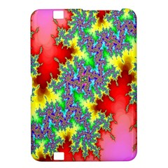 Colored Fractal Background Kindle Fire Hd 8 9