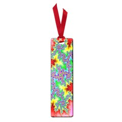Colored Fractal Background Small Book Marks