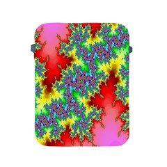 Colored Fractal Background Apple iPad 2/3/4 Protective Soft Cases