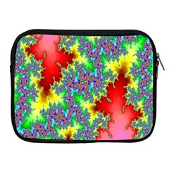 Colored Fractal Background Apple iPad 2/3/4 Zipper Cases