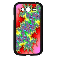 Colored Fractal Background Samsung Galaxy Grand DUOS I9082 Case (Black)