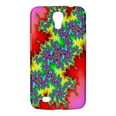 Colored Fractal Background Samsung Galaxy Mega 6.3  I9200 Hardshell Case