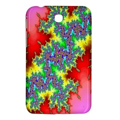 Colored Fractal Background Samsung Galaxy Tab 3 (7 ) P3200 Hardshell Case