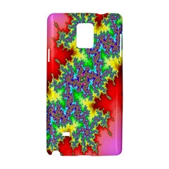 Colored Fractal Background Samsung Galaxy Note 4 Hardshell Case