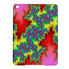 Colored Fractal Background iPad Air 2 Hardshell Cases