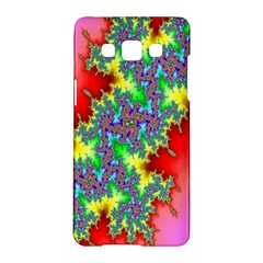 Colored Fractal Background Samsung Galaxy A5 Hardshell Case