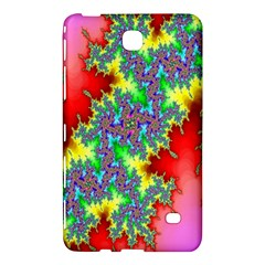 Colored Fractal Background Samsung Galaxy Tab 4 (7 ) Hardshell Case