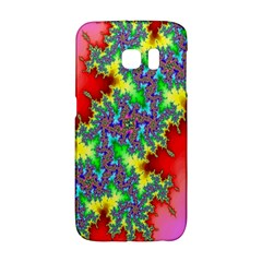 Colored Fractal Background Galaxy S6 Edge