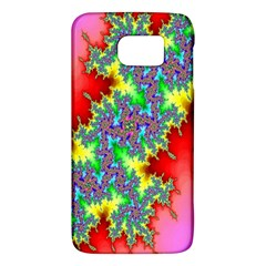 Colored Fractal Background Galaxy S6