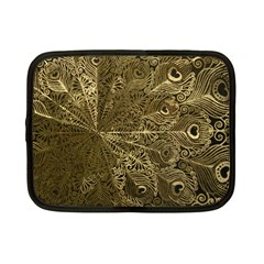 Peacock Metal Tray Netbook Case (Small)