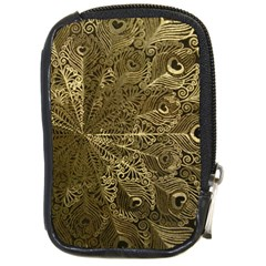 Peacock Metal Tray Compact Camera Cases
