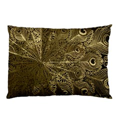 Peacock Metal Tray Pillow Case (Two Sides)