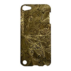 Peacock Metal Tray Apple iPod Touch 5 Hardshell Case
