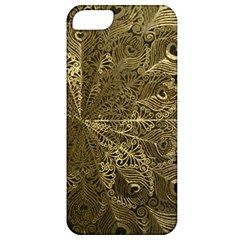 Peacock Metal Tray Apple iPhone 5 Classic Hardshell Case