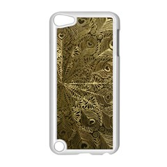 Peacock Metal Tray Apple iPod Touch 5 Case (White)