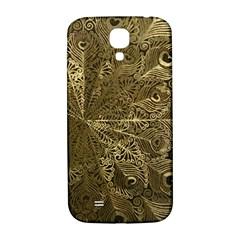 Peacock Metal Tray Samsung Galaxy S4 I9500/I9505  Hardshell Back Case