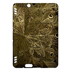 Peacock Metal Tray Kindle Fire HDX Hardshell Case