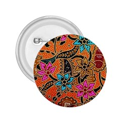 Colorful The Beautiful Of Art Indonesian Batik Pattern 2 25  Buttons