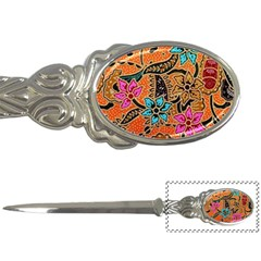 Colorful The Beautiful Of Art Indonesian Batik Pattern Letter Openers