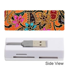 Colorful The Beautiful Of Art Indonesian Batik Pattern Memory Card Reader (stick)