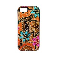 Colorful The Beautiful Of Art Indonesian Batik Pattern Apple iPhone 5 Classic Hardshell Case (PC+Silicone)