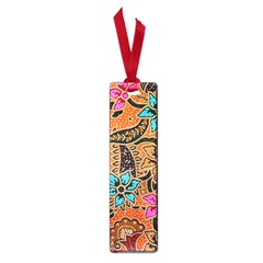 Colorful The Beautiful Of Art Indonesian Batik Pattern Small Book Marks