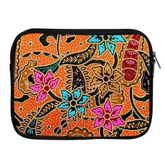 Colorful The Beautiful Of Art Indonesian Batik Pattern Apple iPad 2/3/4 Zipper Cases