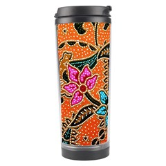 Colorful The Beautiful Of Art Indonesian Batik Pattern Travel Tumbler