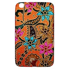 Colorful The Beautiful Of Art Indonesian Batik Pattern Samsung Galaxy Tab 3 (8 ) T3100 Hardshell Case