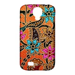 Colorful The Beautiful Of Art Indonesian Batik Pattern Samsung Galaxy S4 Classic Hardshell Case (PC+Silicone)
