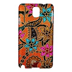 Colorful The Beautiful Of Art Indonesian Batik Pattern Samsung Galaxy Note 3 N9005 Hardshell Case