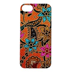 Colorful The Beautiful Of Art Indonesian Batik Pattern Apple iPhone 5S/ SE Hardshell Case