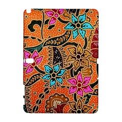 Colorful The Beautiful Of Art Indonesian Batik Pattern Galaxy Note 1