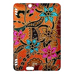 Colorful The Beautiful Of Art Indonesian Batik Pattern Kindle Fire HDX Hardshell Case