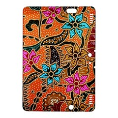 Colorful The Beautiful Of Art Indonesian Batik Pattern Kindle Fire HDX 8.9  Hardshell Case